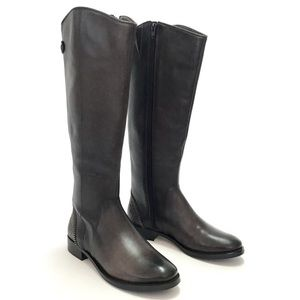 ARTURO CHIANG FALICITY BROWN LEATHER RIDING BOOTS